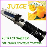 Wholesale Cheap and A Quality handheld sugar meter Brix Refractometer brix for sugar content fruit juice