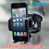 Wholesale High Quality Car Mobile Phone GPS Car Window Strong Suction Cup Mount Holder Button Car Windshield Bracket