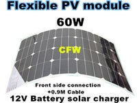 flexible solar panel - Sunpower flexible solar panel W suit to charge V battery system with connection box on the front side and M cable