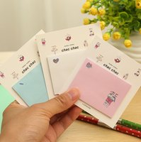 Stationery note pad printing - Cute Mini Animal Romantic Memo Pad Sticky Kawaii Paper Sticker Post It Note for Kids Gifts Korean Stationery