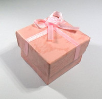 Wholesale 4CM square ring box earring box earrings jewelry box box