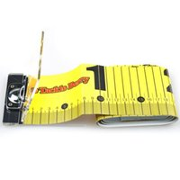 Wholesale 120cm cm Fishing Ruler Yellow Waterproof Acrylic Fibres Special Material Fishing Tackle Fishing tool