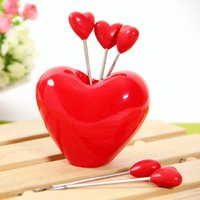 Wholesale Practical household products wedding supplies gifts personalized gifts creative modeling fruit fork cutlery cute
