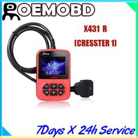 oil display - X431 R CRESSTER with quot color LCD display resetting the automotive oil lamp and service lights for