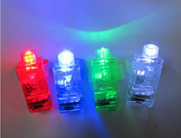 Wholesale Dazzling Laser Fingers Beams Party Flash Toys LED Lights Toys