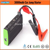 Wholesale 30000mAh Multi Function Car Battery Charger Portable Universal Emergency Mini V Jump Starter Power Bank Laptop Charger
