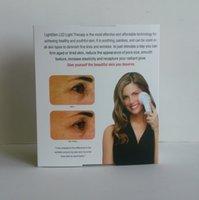 Wholesale MOQ1pcs Lightstim for Wrinkle Face Care light stim LED Skin Rejuvenation Vibration Wrinkle Remover DHL Free
