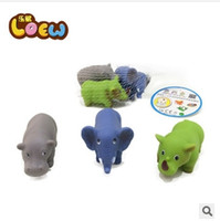 animal sounds elephant - new design sound animal bath toys set rubber toys for bath toys for bathroom shower toy