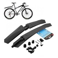Wholesale Cycling Mountain Bike Bicycle Front Mudguard Rear Fender Mud Guard Set AP7008