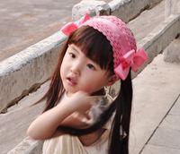 baby gifts wigs - Xayakids Hairpin Korean children are Liu Haifa with Lace Baby wig hair studio camera models Baby Headband