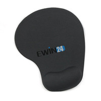 Cheap New Rubber Mice Mouse Pad Cushions Mat With Gel Wrist Rest Support PC Notebook Laptop New