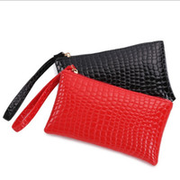 Wholesale 2015 Women s Cheap casual fashion leather clutch bags wallets coin purse small handbags wristlets