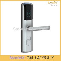 electronic key door lock - Software Operated Electronic Keyless kHz Key Card RFID Hotel Door Lock