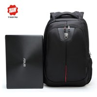 Wholesale Guarantee anti theft zippers and wearproof and waterproof nylon business laptop backpack bags free logo