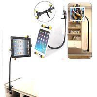 Wholesale Adjustable Bracket Phone Holder for Matching Tablets Easy Operations Car Mount Lazy Goose neck Holder High Quality S034