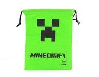 draw string bag - 2015 New Minecraft Bag Backpack Creeper Draw String Sling Bag Gift Bag High Quality