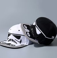brand hip hop cap - Newest Embroidery Fashion Brand Star Wars Snapback Caps Cool Strapback Letter Baseball Cap Hip hop Hats For Men Women