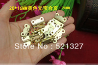 Wholesale 20 MM hinge ingot small wooden wine lace butterfly hinge flat
