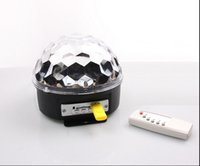 Wholesale MP3 KTV party disco laser stage lights with USB disk with remote control sound stage light stage magic crystal ball light lamp