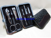Wholesale Hot Sale Set Of Travel Home Nail Care Kit Cutter Clipper Manicure Cuticle Case Tool