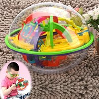 Cheap 2016 Brand New Maze Ball Kids Toy Education Toy Large Maze Ball Magical Intellect Ball Puzzle Toy For Children SV014978