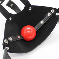 Cheap 2016 New Arrival Adult Sex Toy Mouth Mask Cosplay SM Fetish Restraint Bondage Ball Gag Excellent