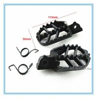 Wholesale Steel footrest repose pieds for dirt bike good quality factory directly Casting Steel