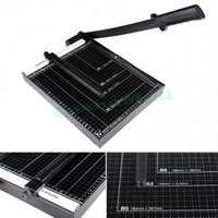 base board trim - Black Color A4 B7 B5 Paper Cutter Trimmer Base Board Office Home Manual Adjusted Post Card And Photo Paper Cutting Machine