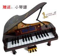 Wholesale kids Quality toy piano mini piano electronic piano electric ploughboys infant musical toy keys kids gift