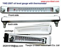 Wholesale YWZ oil level gauge with temperature indicator