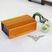 Wholesale GY6 HIGH QUALITY RACING CDI BOX cc cc MOPED SCOOTER ATV GOLD COLOR FOR BEST SALE