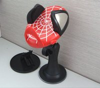 Black auto part prices - Amazing Spider Man car phone holder decoration ornaments around the auto parts supplies factory price on sales