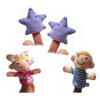 baby nursery sale - Hot Sale New Design New nursery rhyme Finger Puppet Plush Toys for Baby Twinkle Twinkle Little Star