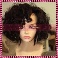 african wigs wholesale - African American Bob Wigs Short Human Hair Wigs Loose Wavy Brazilian Lace Front Bob wig