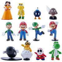 action figuren - Super Mario Bros figures Yoshi Figur Super Mario Yoshi PVC Action Figuren game fans figures Collection set