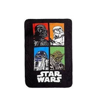 Wholesale Star Wars Darth Vader Plush Throw Blankets styles inches Yoda Stromtrooper Comforter bedding Rugs new arrival