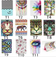 animal skin images - Multi choice Image Leather Stand Case for Ipad Serious Colorful Trees Painting Pattern Protective Skin Case Cover for Ipad Tablet