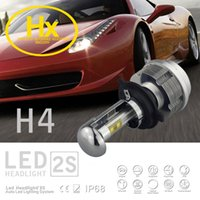automotive led bulbs - New High Quality Automotive LED S Headlamps H4 Bulb Headlights Hi Lo High Low Beam Altra white Fog Light