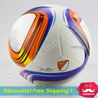 best soccer games - New particles Midland Cup champion League usa Football game ball soccer PU granules anti slip balls best High quality