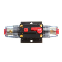 Wholesale Excellent Quality DC V Car Stereo Audio Circuit Breaker Inline Fuse AMP A order lt no track