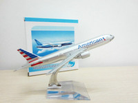 american model aviation - retail price Boeing BOEING777 American airlines AA16CM metal model plane Aviation gift toy for children cm