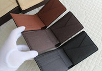 Wholesale 2016 Mens Brand Leather Wallet Men s Genuine Leather With Wallets For Men Purse Wallet Men Wallet Cowhide