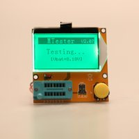 Wholesale Multi functional LCD Backlight Transistor Tester Diode Triode Capacitance ESR Meter Tester MOS PNP NPN LCR