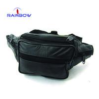 Wholesale New Styles Men And Women Bags Genuine Leather Waist Sports Bag Vintage Travel Belt Waist Packs Black On Sale