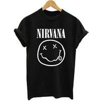 band shirt designer - New Mens Rock Band Tops Tees Short Sleeve t shirt Famous Rock Band Nirvana Printed Cotton t shirt women Designer Clothing
