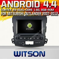 dvd audio - WITSON GPS built in Wifi Car DVD Player Bluetooth Hot Sale for MISUBISHI OUTLANDER car audio dvd payer car radio A9848Z