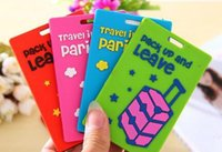 Wholesale 2016 new arriving popular luggage tag portable suitcase bag tag Bag Parts Accessories Bags Luggages Accessories