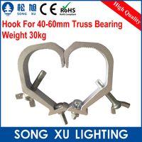 aluminum truss - PC Aluminum Stage Lamp Hook For mm Truss hook moving head light beam par can par light SX AC016
