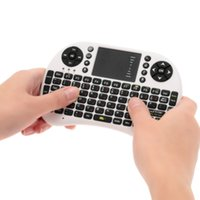 air mouse russian - 2 G Mini Wireless Russian Version QWERTY Gaming Keyboard Touchpad Fly Air Mouse Remote Control for Android Windows Mac TV Box C2860