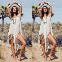 asymmetrical swimsuits - 2015 Sexy Women Crochet Bathing Suit Swimwear Bikini Cover up Beach Dress Swimsuit
